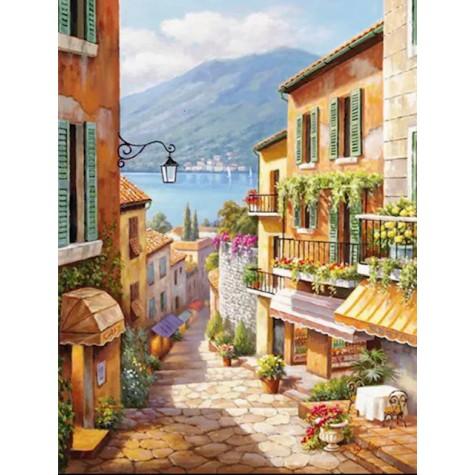 Elmas Boyama  - Sicilya 30x40 Cm